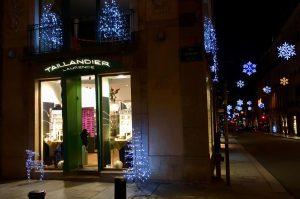 Vitrines de Noël à Rennes